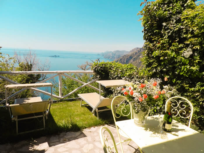 Bed And Breakfast Positano Villa Verde