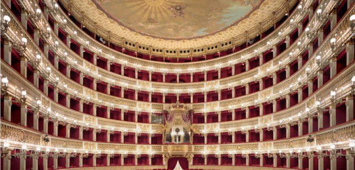 Xmas concert at San Carlo Theatre