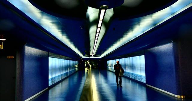 Discover Toledo station, the most famous Naples Metro art stop